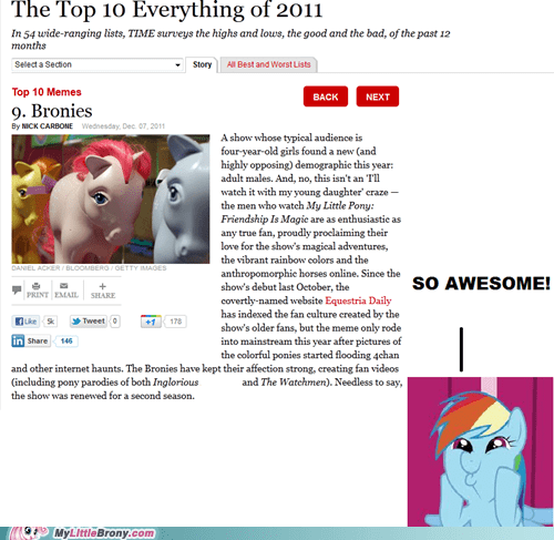 awesome Bronies brony IRL taking over the world time magazine - 5535782144