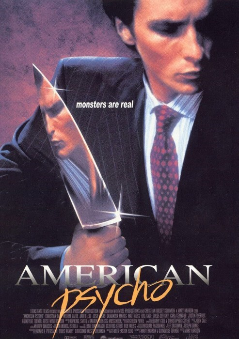 american psycho,Dear God No,Noble Jones,this is why,Unnecessary Remake