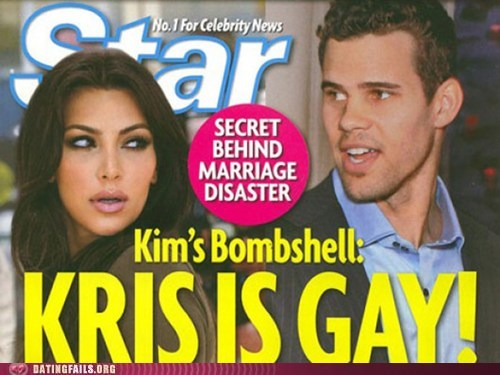 divorce FAIL gay kim kardashian kris humphries no homo sports star We Are Dating Yellow Journalism - 5536122880