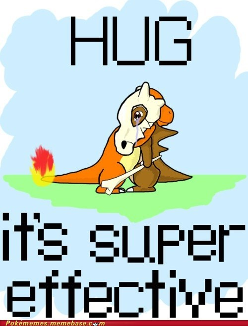 art best of week charmander cubone cute hug super effective - 5536178432