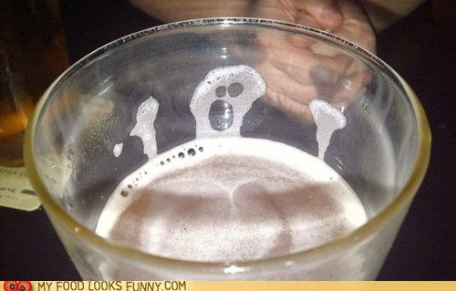 beer drowning face man scared - 5536228352
