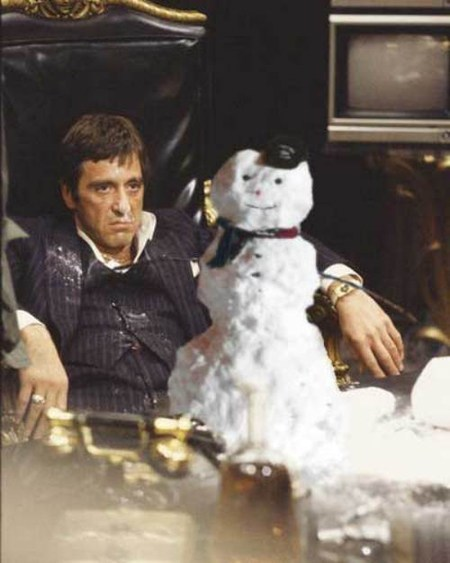 celeb cocaine drugs scarface snow snowman - 5536267264