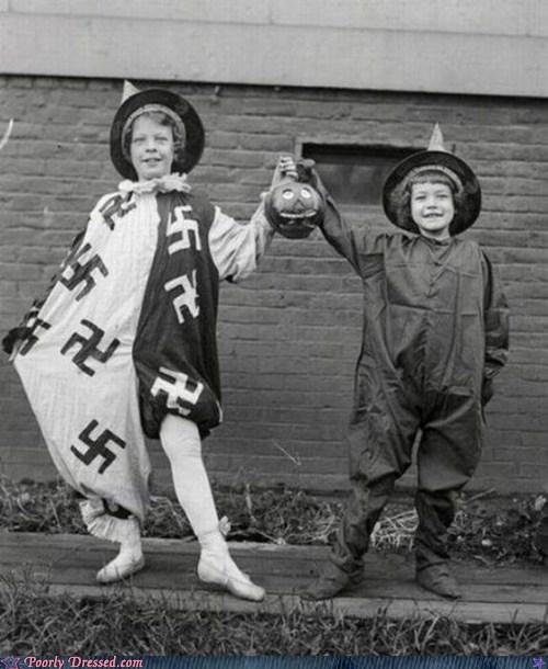 nazi halloween,racism,swastika
