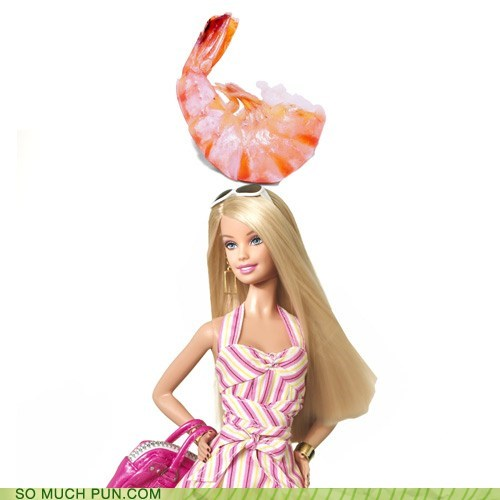 barbecue Barbie bbq doll double meaning idiom literalism shrimp slang - 5536560640