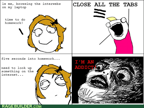 addict,all the things,internet,Rage Comics