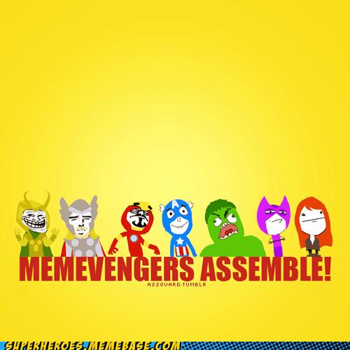 avengers Black Widow captain america hawkeye hulk ironman loki Memes Super-Lols Thor - 5536584960