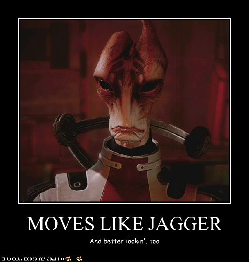 MOVES LIKE JAGGER And better lookin', too