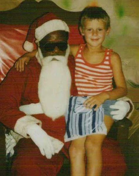 funky g rated mall retro santa santa claus sketchy santas too cool vintage - 5536840192