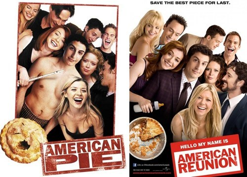 american pie,American Reunion,Then And Now,YOU ARE OLD