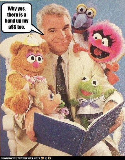 actor celeb funny muppets Steve Martin - 5537169152