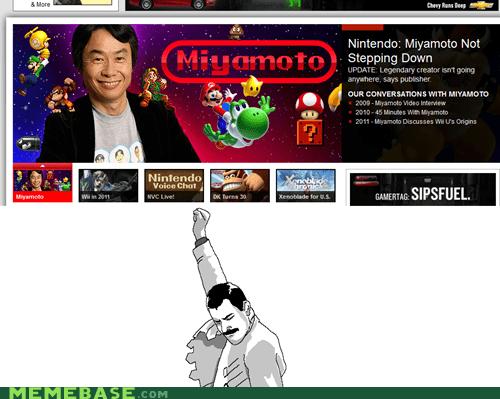 ceo,humanity,miyamoto,nintendo,Rage Comics