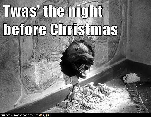 christmas,mouse,puppet,shrews,stirring,the killer shrews,the night before christmas