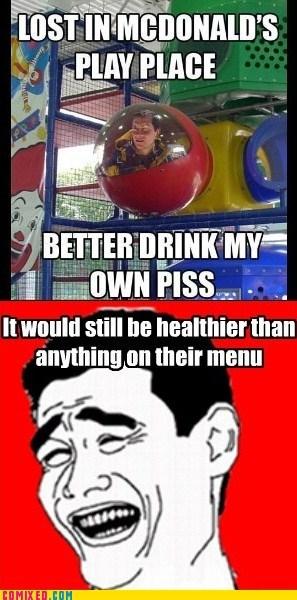 bear grylls fast food healthy McDonald's the internets - 5537417728