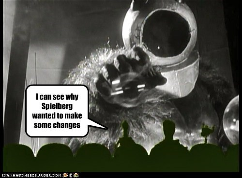 astronaut,changes,monster,Mystery Science Theatre,Spielberg,tom servo