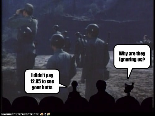 crow,ignore,Mystery Science Theatre,pay,tom servo