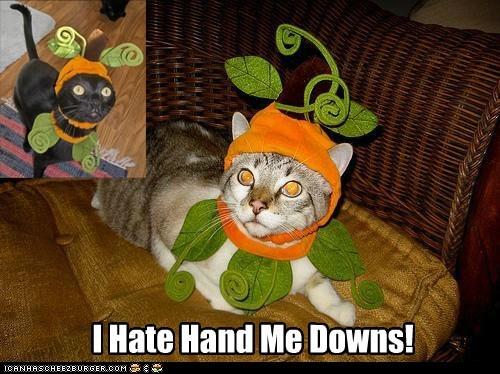 I Hate Hand Me Downs