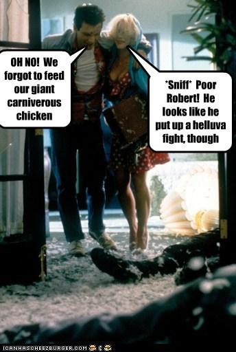 chickens christian slater feathers massacre messy Patricia Arquette True Romance - 5537967872