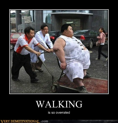 fat kid Pure Awesome pushed walking wtf