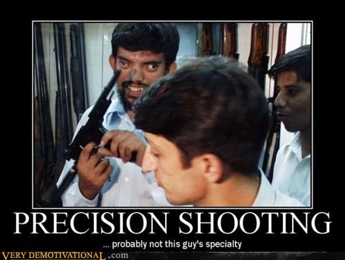 cross eyed hilarious precision shooting wtf - 5538650880