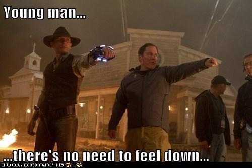 cowboys and aliens Daniel Craig directing jon favreau ymca - 5538871808