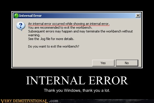 hilarious internal error jerks windows