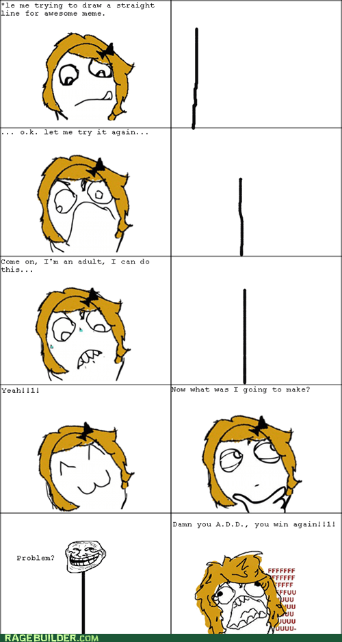 add drawing lines ocd Rage Comics