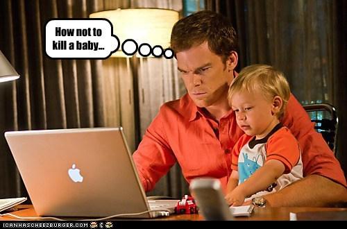 Babies Dexter help internet killing michael c hall murder - 5539347456