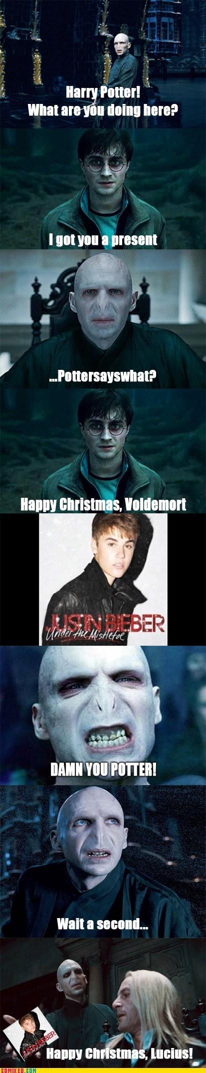Harry Potter justin beiber loathing regift voldemort - 5539356160