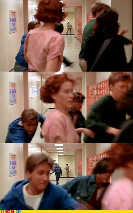 breakfast club,From the Movies,meme,occupy detention,Pepper Spray Cop
