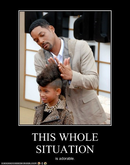 actor,celeb,demotivational,funny,will smith,willow smith