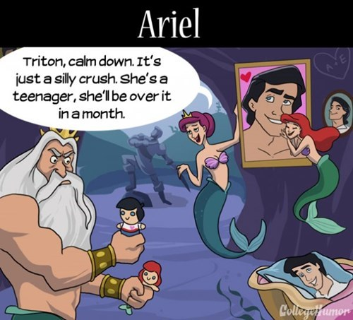 If Only Disney Princesses Had Mothers