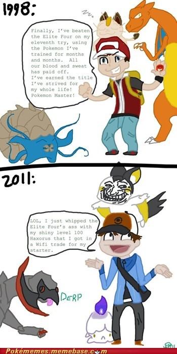 best of week Cherish haxorus Memes Pokémon pokemon master times have changed