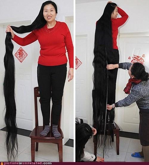 hair IRL rapunzel wtf - 5540286464