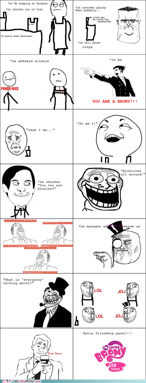 best bucking job best of week comics friendship panel Rage Comics true story - 5540342784
