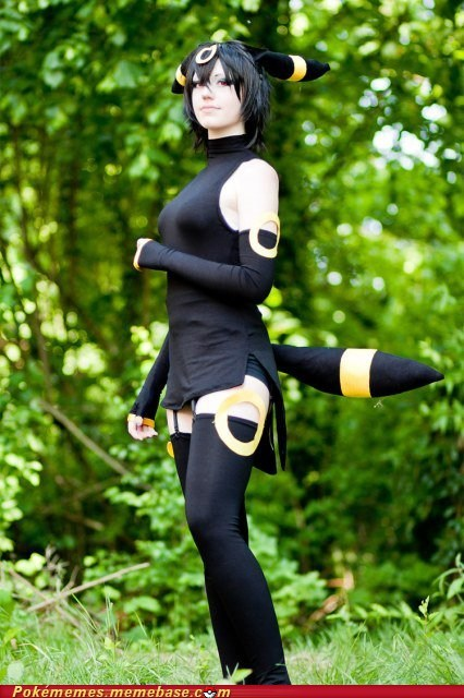 cosplay eeveelutions Pokémon umbreon - 5540586240