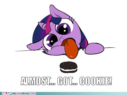 cookies food magic ponies twilight sparkle yummy - 5540768000