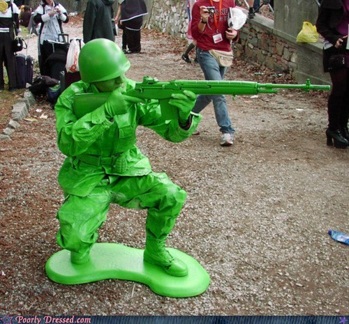 cosplay,cosplay win,toy soldier