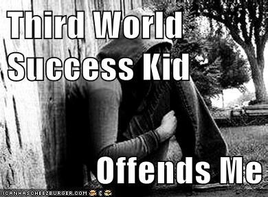 Third World Success Kid Offends Me