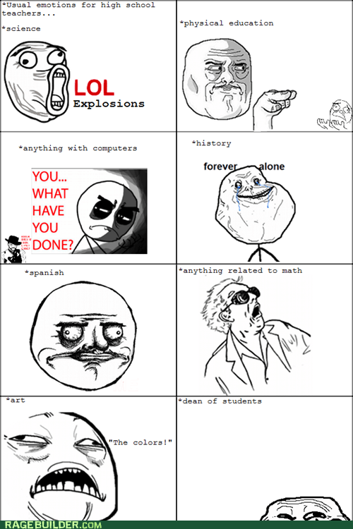 forever alone,me gusta,Rage Comics,rage faces,truancy story