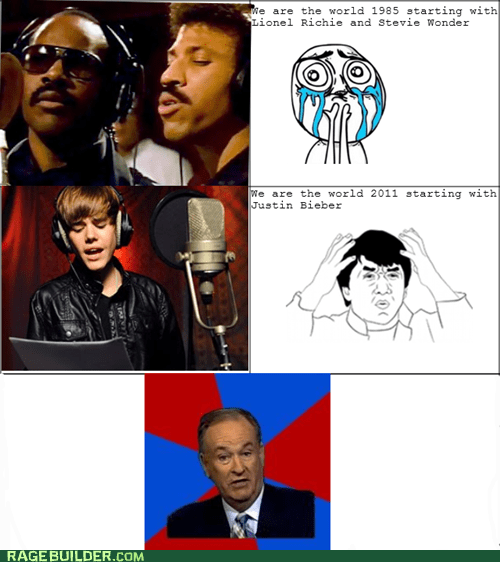 cant explain that justin bieber Rage Comics we are the world - 5541239552