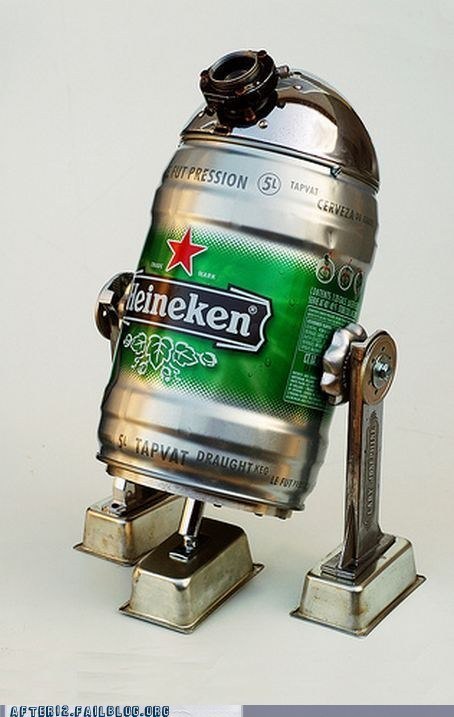 beer beer can Heineken r2d2 star wars - 5541254400