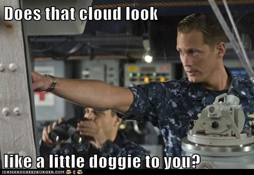 Does that cloud look like a little doggie to you?