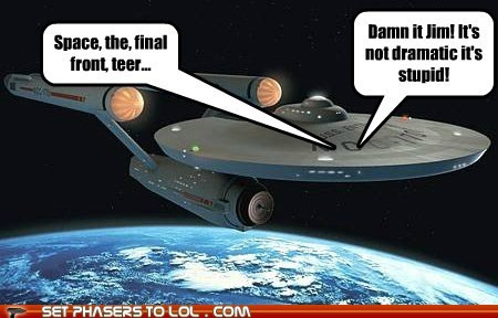 Captain Kirk McCoy Shatnerday Star Trek William Shatner - 5541386752