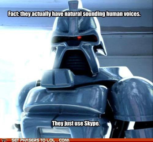 Battlestar Galactica cylons human skype voices - 5541416704