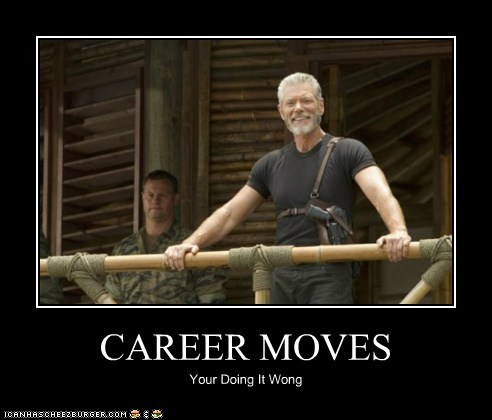 career commander taylor Stephen Lang terra nova your doing it wrong