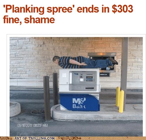fine IRL Planking shame - 5542168576