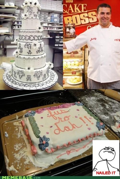 cake boss fus ro dah Nailed It Skyrim television video games - 5542171904