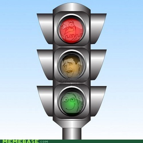 faces,lights,rage,Rage Comics,traffic