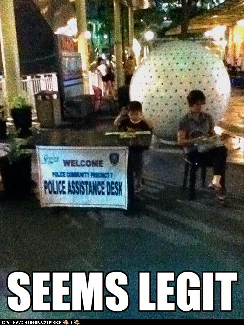 child kid police seems legit what - 5543384320