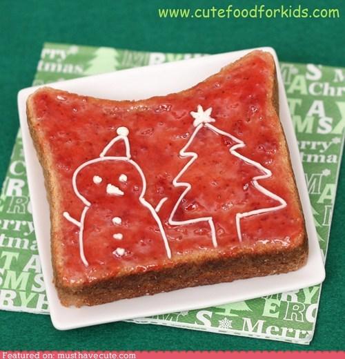 draw epicute icing jam toast - 5544112128